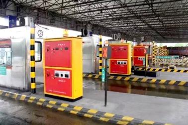 内蒙古高速收费站出入口自动发卡机案例